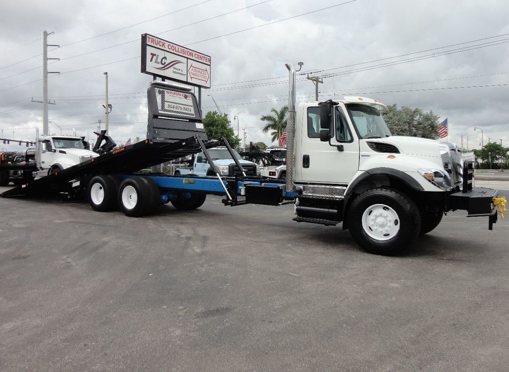 2008 International 7500 *NEW* 28FT 15 TON ROLLBACK INDUSTRIAL JERRDAN. - 17788200 - 2