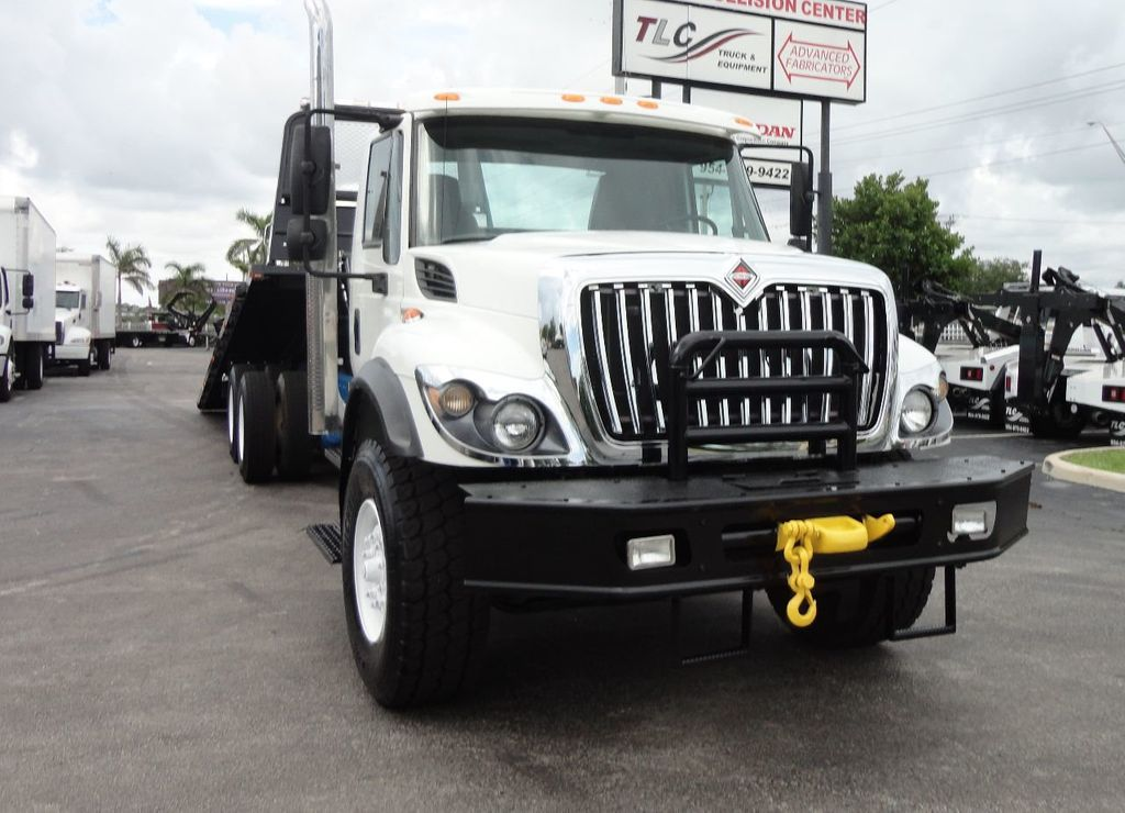 2008 International 7500 *NEW* 28FT 15 TON ROLLBACK INDUSTRIAL JERRDAN. - 17788200 - 3