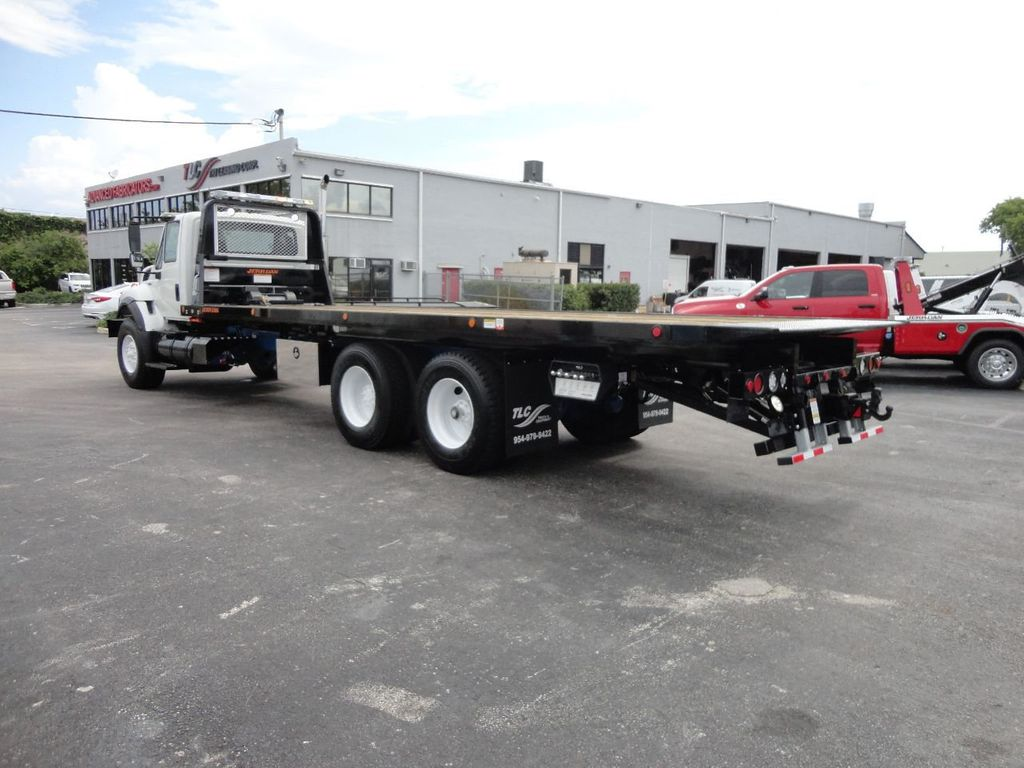 2008 International 7500 *NEW* 28FT 15 TON ROLLBACK INDUSTRIAL JERRDAN. - 17788200 - 45