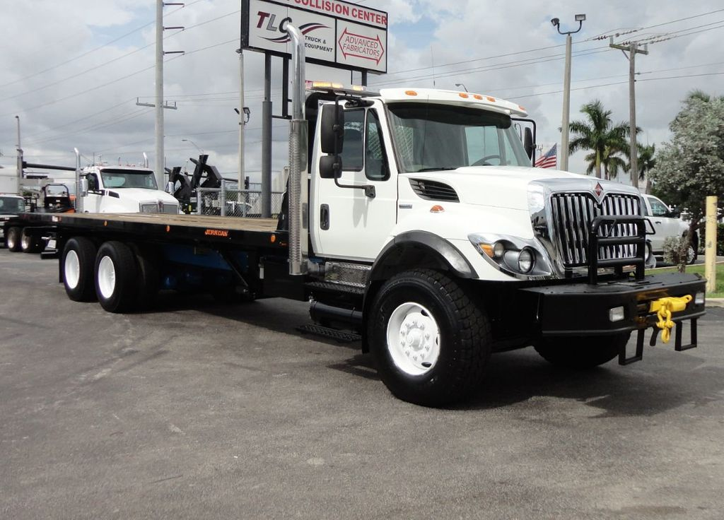 2008 International 7500 *NEW* 28FT 15 TON ROLLBACK INDUSTRIAL JERRDAN. - 17788200 - 50