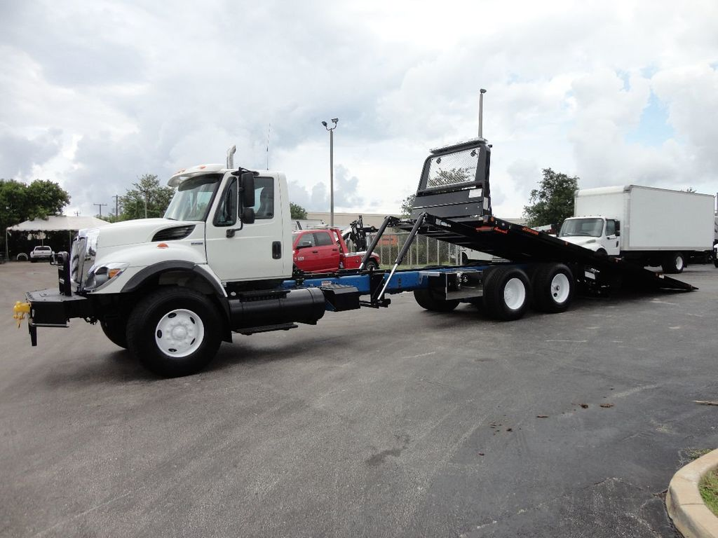 2008 International 7500 *NEW* 28FT 15 TON ROLLBACK INDUSTRIAL JERRDAN. - 17788200 - 5