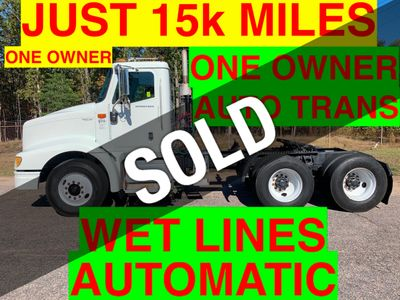 2008 International 9200 DAYCAB TRACTOR JUST 15k MILES. ULTRASHIFT!! AUTOMATIC WITH WET LINES!! BIG HP CUMMINS!