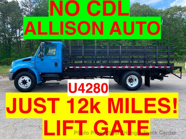 2008 International NO CDL STAKE JUST 12k MILES ONE OWNER LIFT GATE ALLISON AUTO CRUISE CONTROL