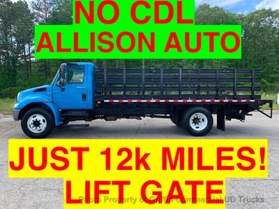 2008 International NO CDL STAKE JUST 12k MILES ONE OWNER LIFT GATE ALLISON AUTO CRUISE CONTROL - Click to see full-size photo viewer