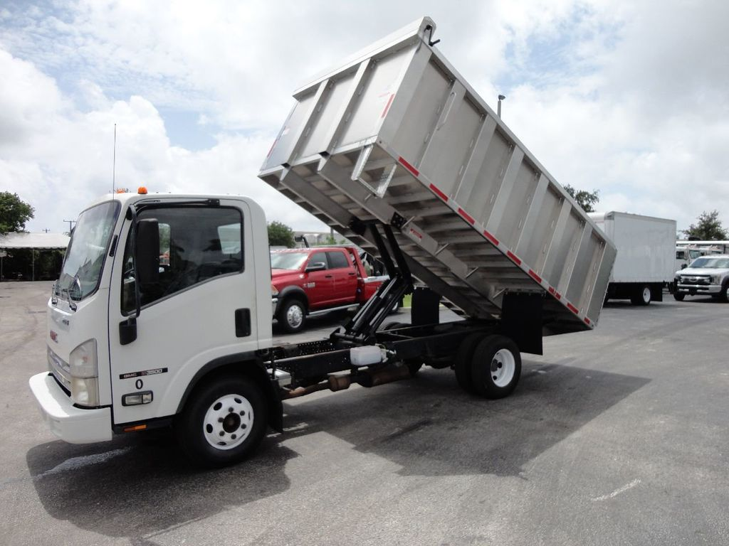 2008 Isuzu NPR *NEW*ADVANCED FABRICATORS 14FT ALUMINUM TRASH DUMP.. - 17720177 - 9
