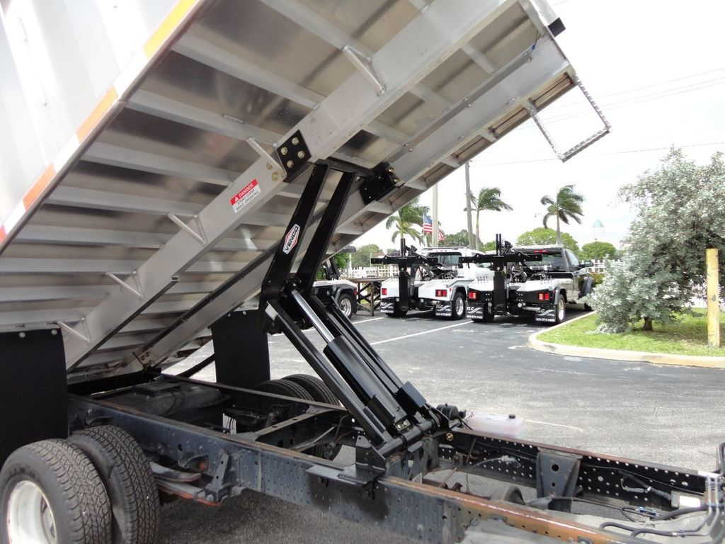2008 Isuzu NPR *NEW*ADVANCED FABRICATORS 14FT ALUMINUM TRASH DUMP.. - 17720177 - 18