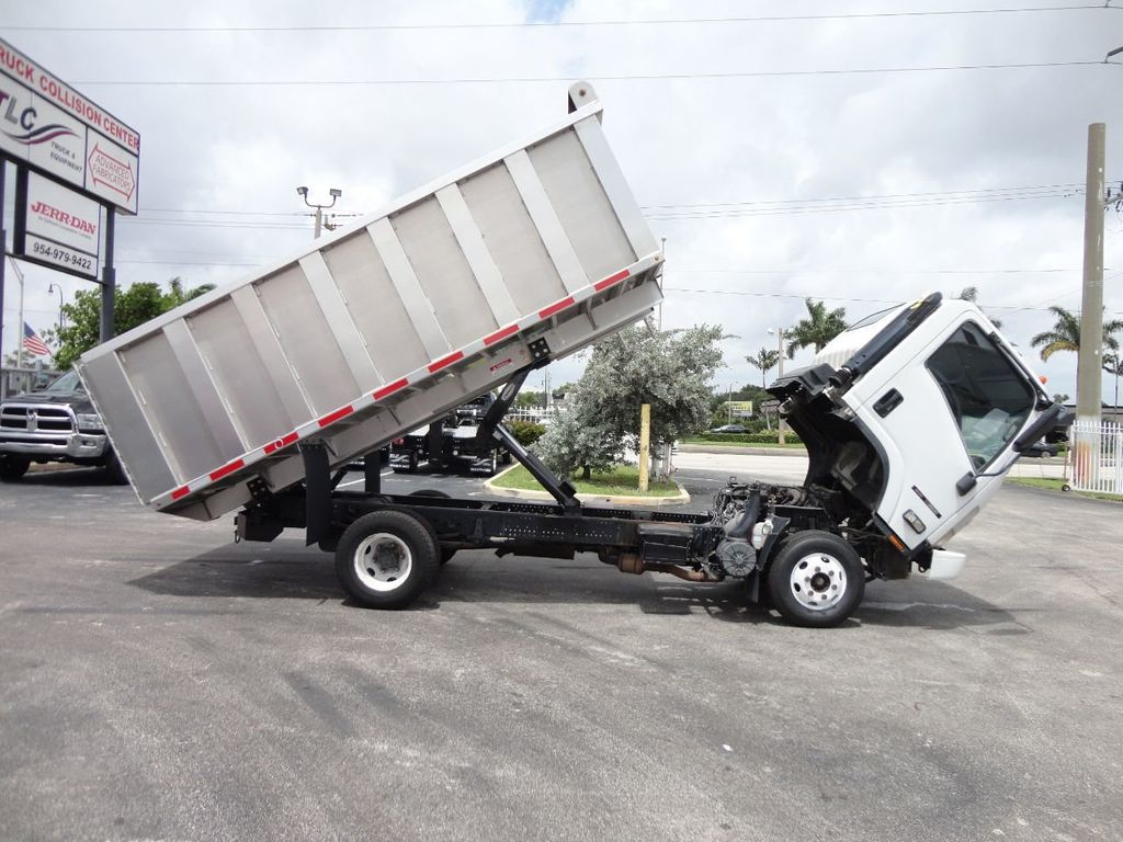 2008 Isuzu NPR *NEW*ADVANCED FABRICATORS 14FT ALUMINUM TRASH DUMP.. - 17720177 - 21