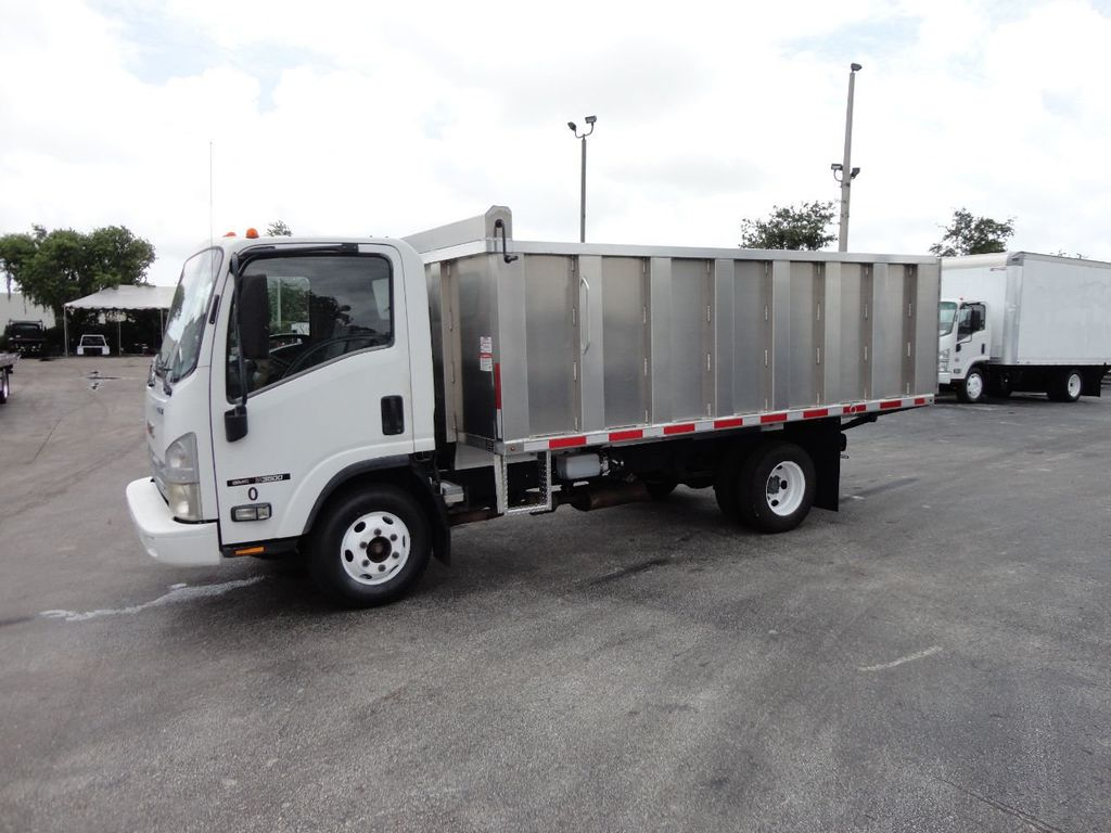 2008 Isuzu NPR *NEW*ADVANCED FABRICATORS 14FT ALUMINUM TRASH DUMP.. - 17720177 - 22