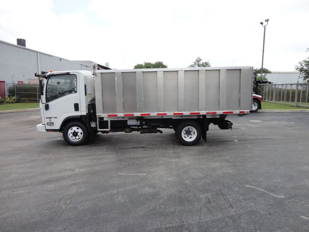 2008 Isuzu NPR *NEW*ADVANCED FABRICATORS 14FT ALUMINUM TRASH DUMP.. - 17720177 - 23