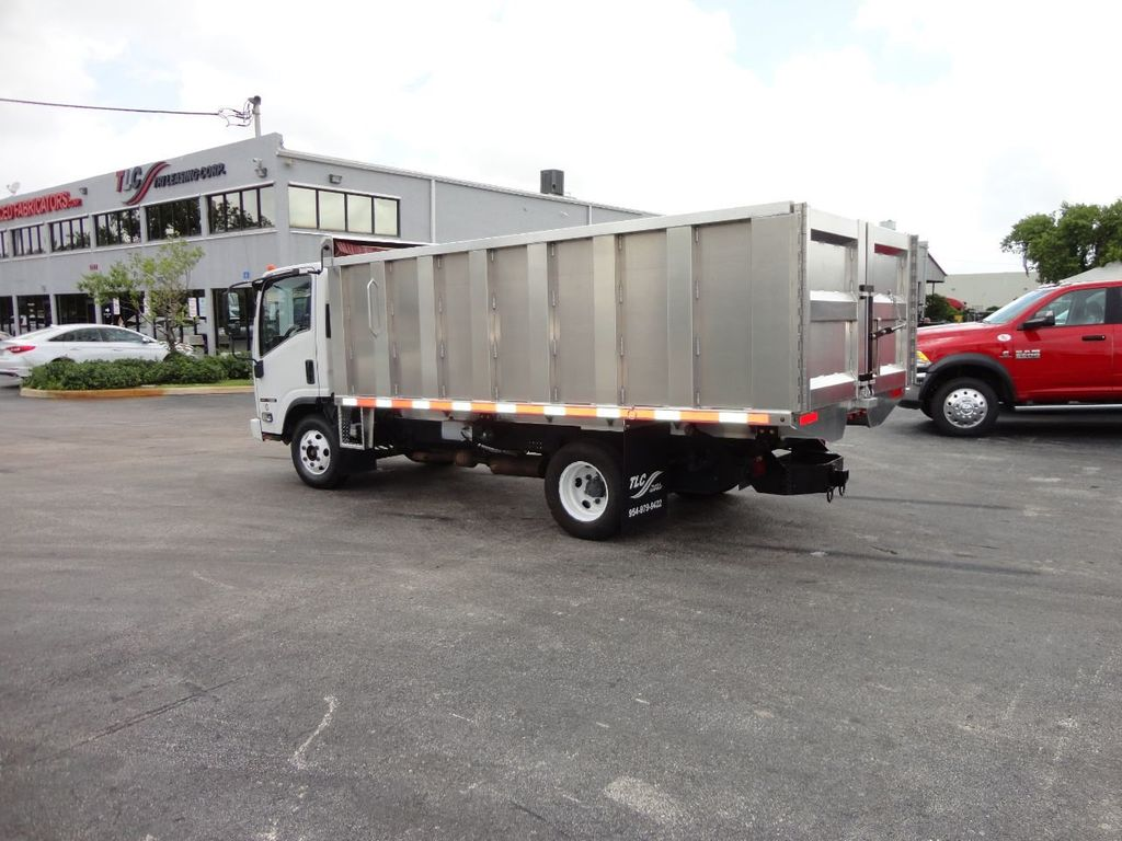 2008 Isuzu NPR *NEW*ADVANCED FABRICATORS 14FT ALUMINUM TRASH DUMP.. - 17720177 - 24