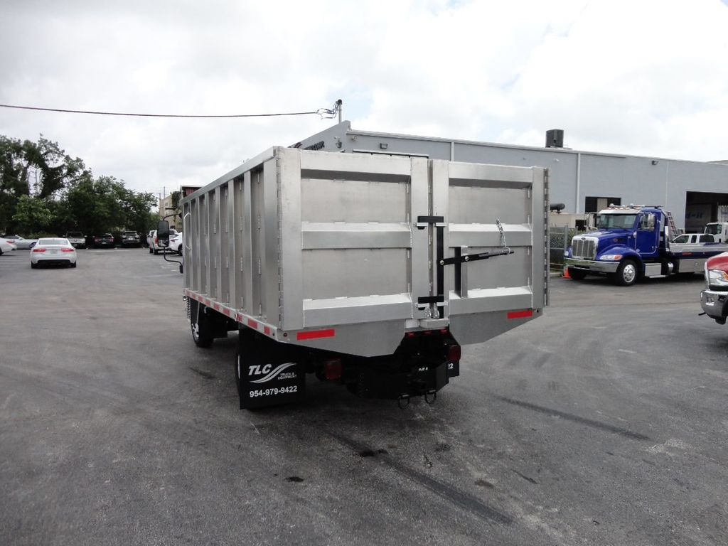 2008 Isuzu NPR *NEW*ADVANCED FABRICATORS 14FT ALUMINUM TRASH DUMP.. - 17720177 - 25