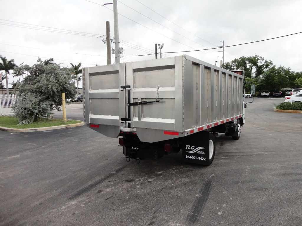 2008 Isuzu NPR *NEW*ADVANCED FABRICATORS 14FT ALUMINUM TRASH DUMP.. - 17720177 - 27