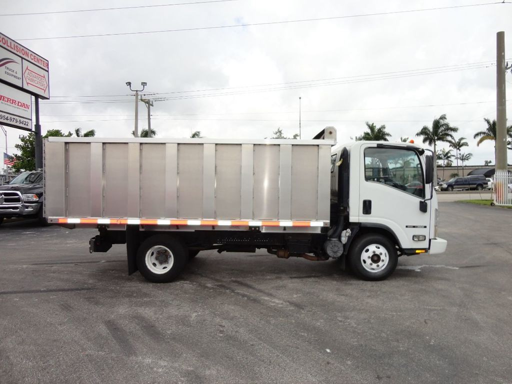 2008 Isuzu NPR *NEW*ADVANCED FABRICATORS 14FT ALUMINUM TRASH DUMP.. - 17720177 - 28