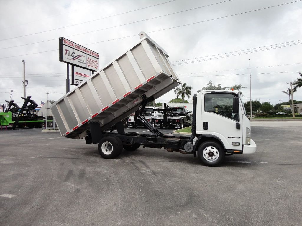 2008 Isuzu NPR *NEW*ADVANCED FABRICATORS 14FT ALUMINUM TRASH DUMP.. - 17720177 - 3