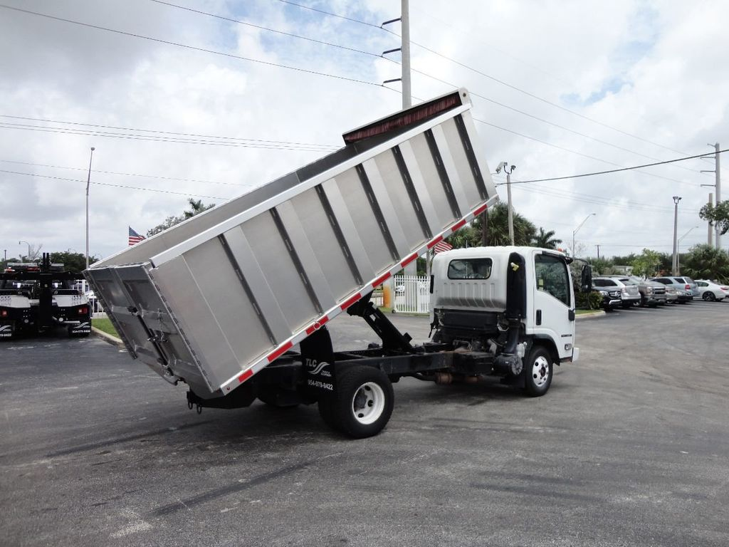 2008 Isuzu NPR *NEW*ADVANCED FABRICATORS 14FT ALUMINUM TRASH DUMP.. - 17720177 - 4