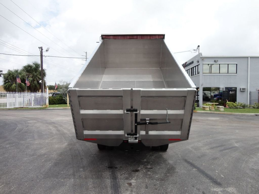 2008 Isuzu NPR *NEW*ADVANCED FABRICATORS 14FT ALUMINUM TRASH DUMP.. - 17720177 - 5