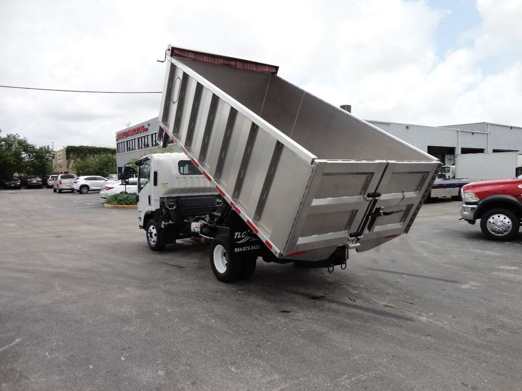 2008 Isuzu NPR *NEW*ADVANCED FABRICATORS 14FT ALUMINUM TRASH DUMP.. - 17720177 - 6