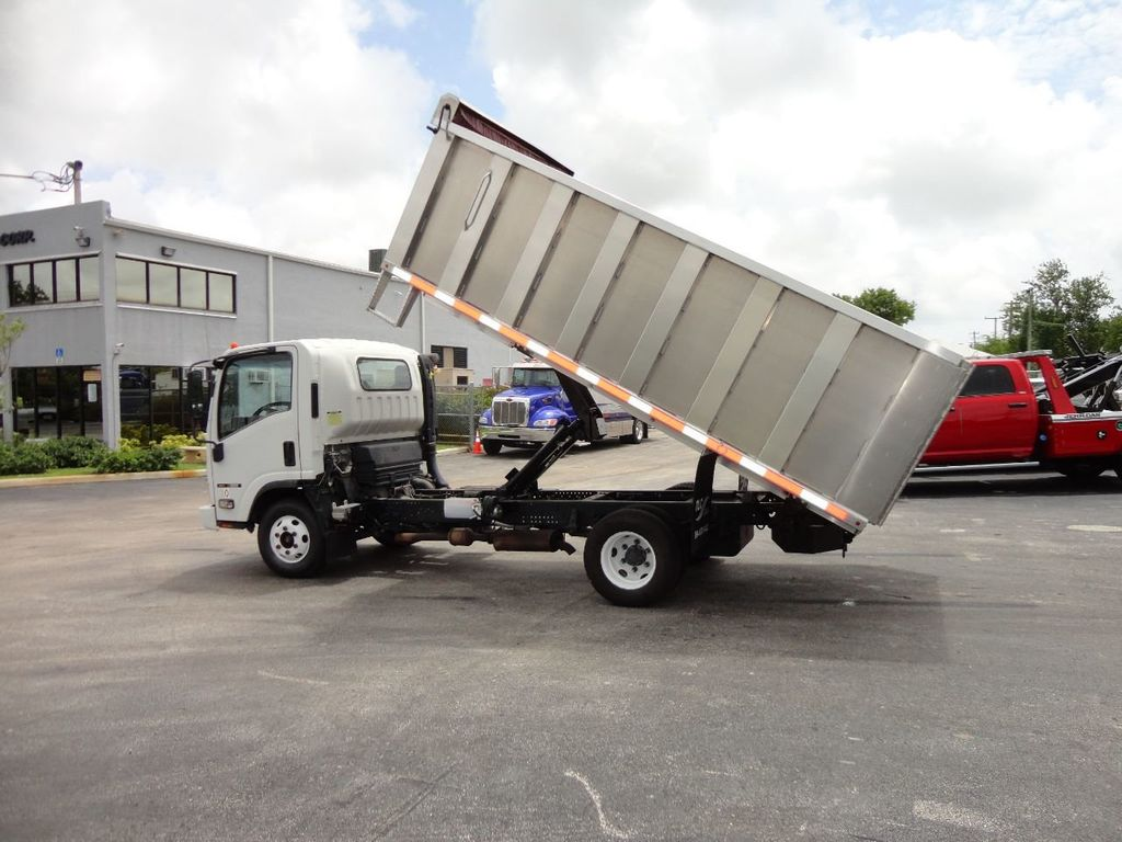 2008 Isuzu NPR *NEW*ADVANCED FABRICATORS 14FT ALUMINUM TRASH DUMP.. - 17720177 - 7