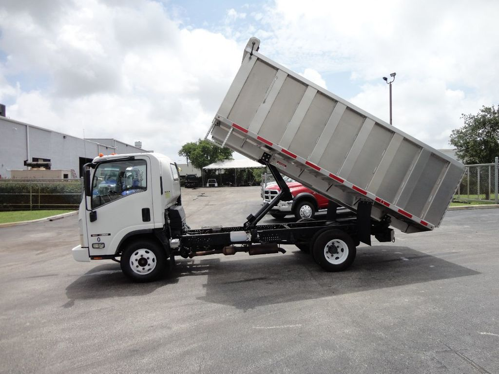 2008 Isuzu NPR *NEW*ADVANCED FABRICATORS 14FT ALUMINUM TRASH DUMP.. - 17720177 - 8