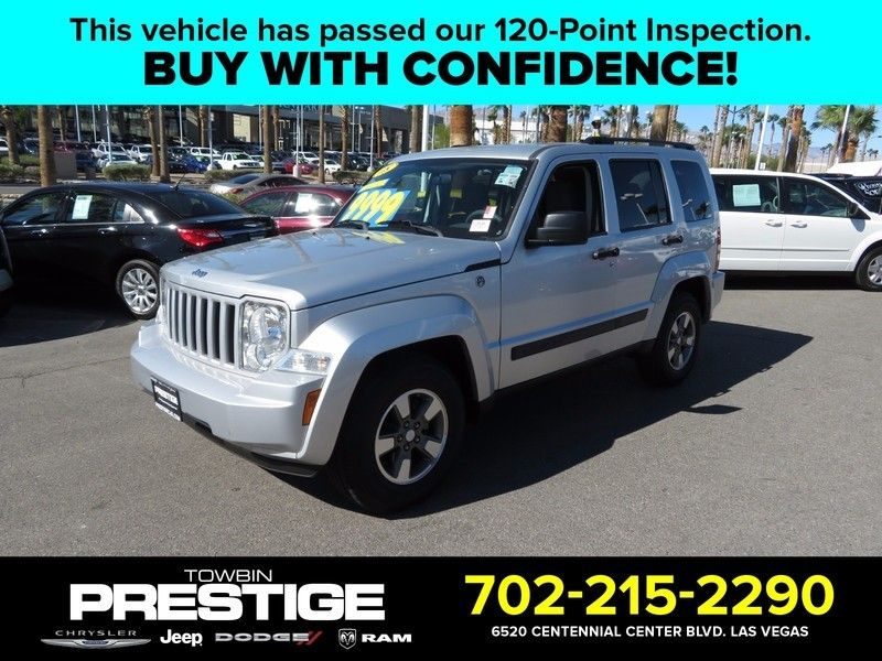 2008 Jeep Liberty 4WD 4dr Sport - 16882575 - 0
