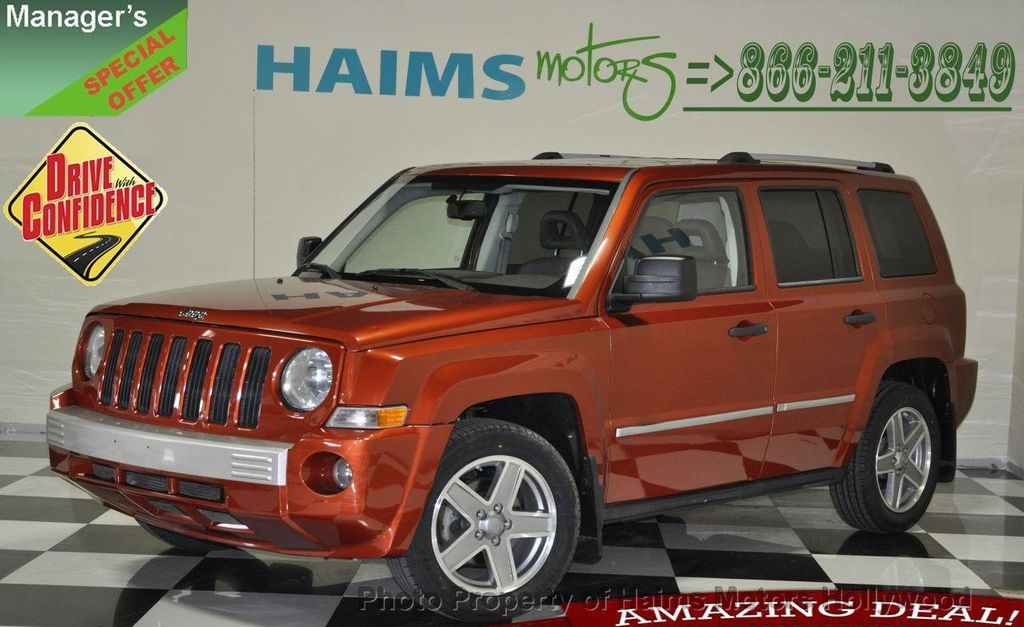 2008 used jeep patriot limited at haims motors serving. Black Bedroom Furniture Sets. Home Design Ideas