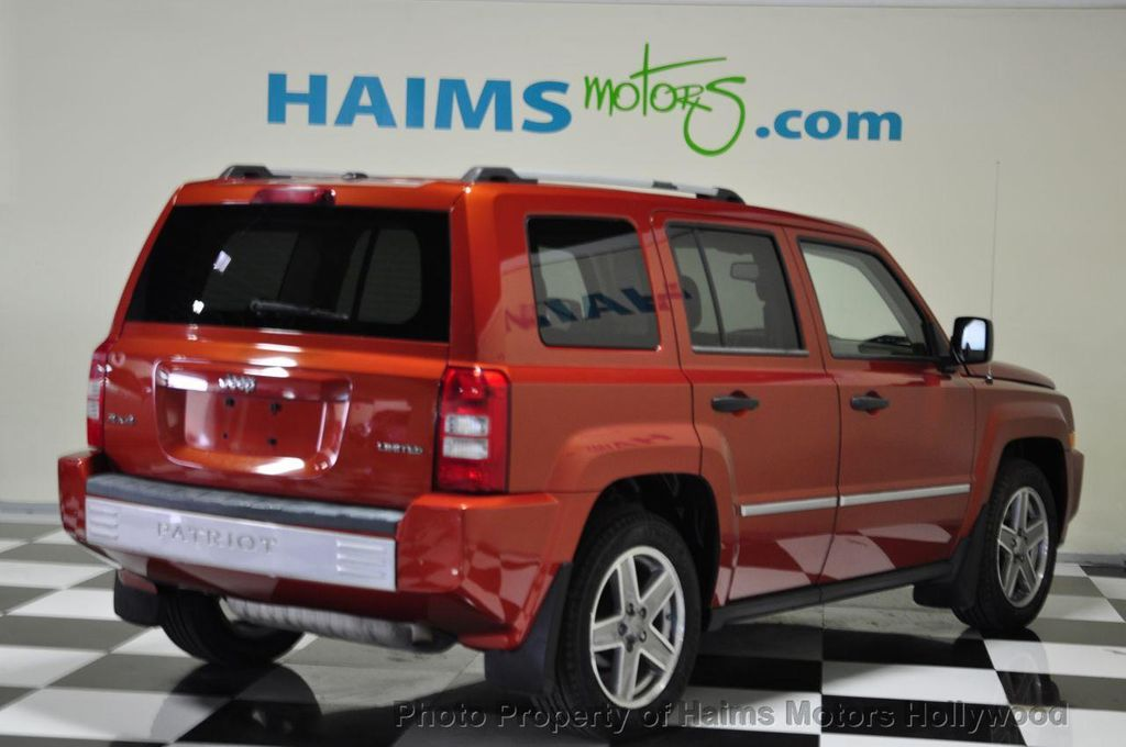 2008 Jeep Patriot Limited 12765280 3