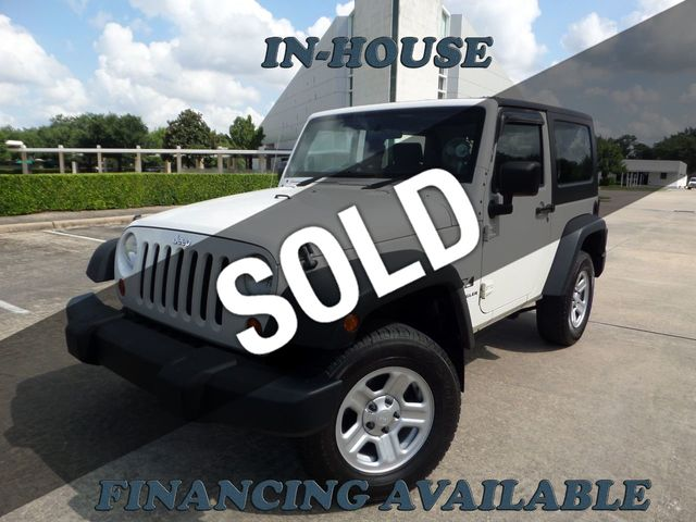 2008 Jeep Wrangler 2008 Jeep Wrangler 4WD 2dr X RHD, 2-Owner, Cd-Player, Clean!!