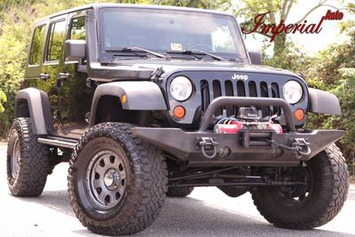 2008 Jeep Wrangler 4WD 4dr Unlimited Rubicon SUV