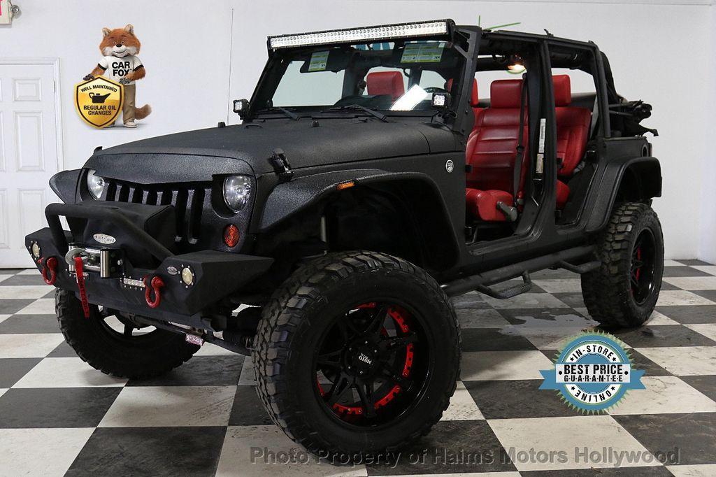 2008 Jeep Wrangler 4WD 4dr Unlimited Sahara - 18172182 - 0