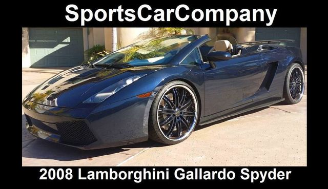 2008 Lamborghini Gallardo SPYDER   14449060   0