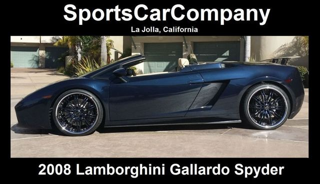 2008 Lamborghini Gallardo SPYDER - 14449060 - 2