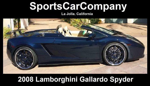 2008 Lamborghini Gallardo SPYDER - 14449060 - 3
