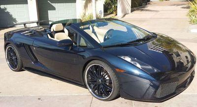 2008 Lamborghini Gallardo SPYDER - Click to see full-size photo viewer