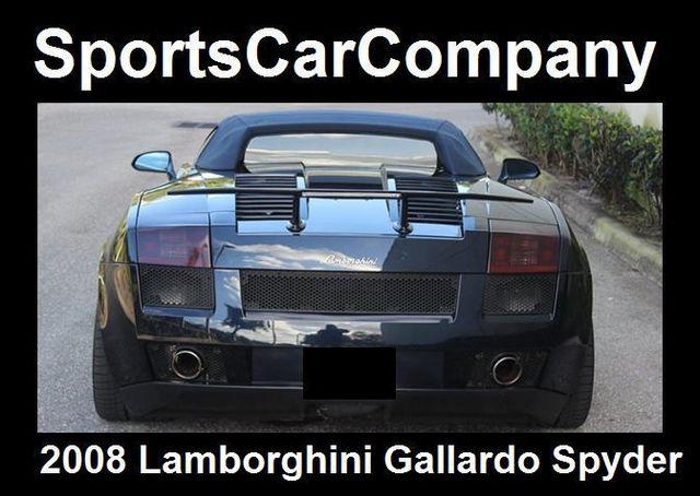 2008 Lamborghini Gallardo SPYDER - 14449060 - 54
