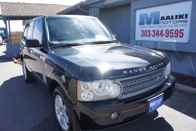 2008 Land Rover Range Rover 4WD 4dr HSE - 18093377 - 0