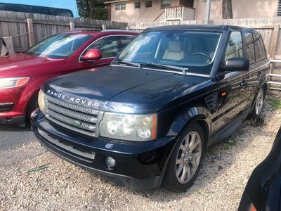 2008 Land Rover Range Rover Sport 4WD 4dr HSE SUV