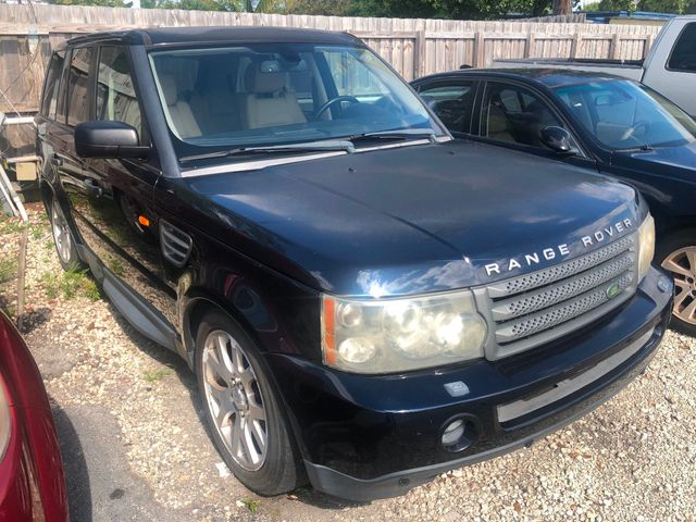 2008 Land Rover Range Rover Sport 4WD 4dr HSE - Click to see full-size photo viewer
