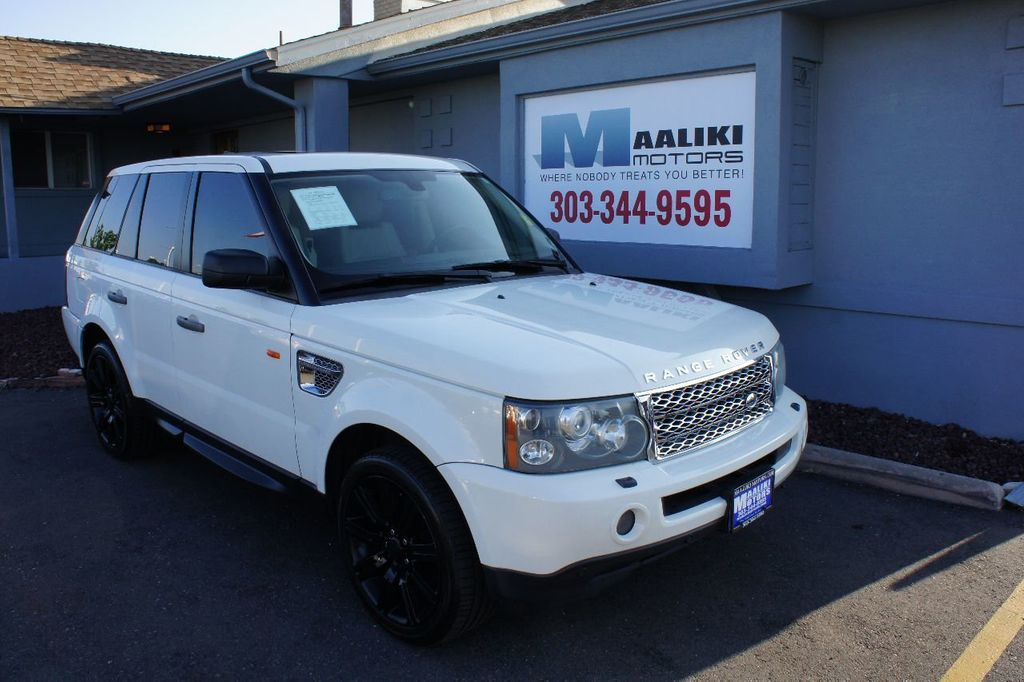 2008 Land Rover Range Rover Sport 4WD 4dr SC - 17925131 - 0
