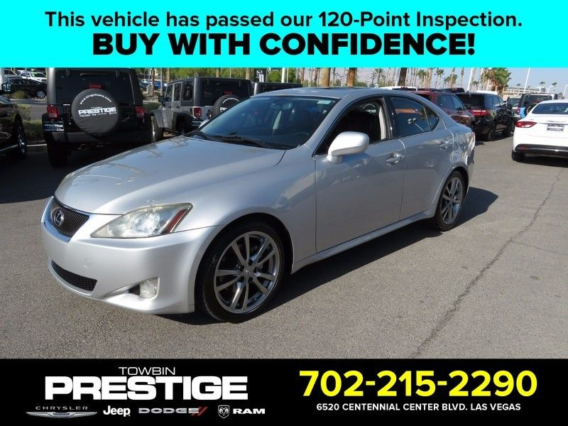 2008 Lexus IS 250 4dr Sport Sedan Automatic RWD - 16928256 - 0