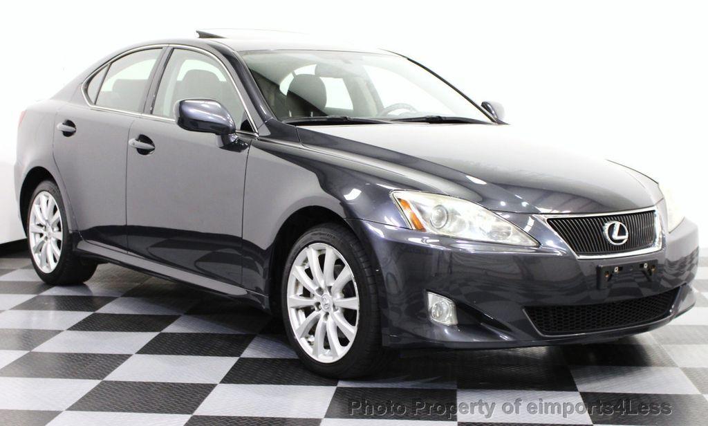 2008 Lexus Is 250 Certified Is250 Awd Sedan Camera Navigation 15610989 1