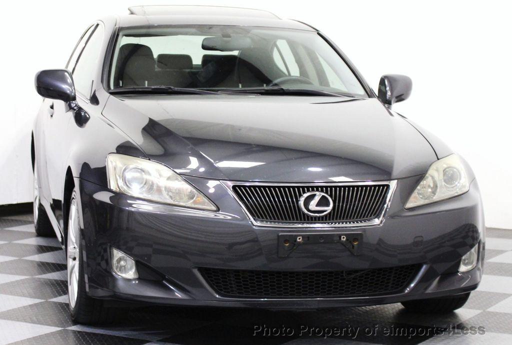 2008 Lexus IS 250 CERTIFIED IS250 AWD SEDAN CAMERA / NAVIGATION   15610989    22