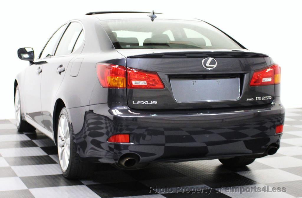 2008 used lexus is 250 certified is250 awd sedan camera / navigation