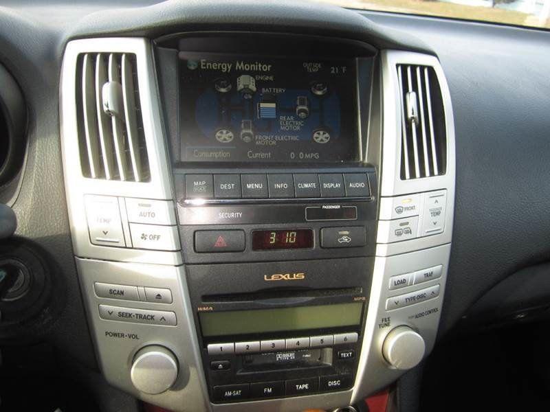 2008 Lexus RX 400h AWD / RX400H / HYBRID   15396177   30