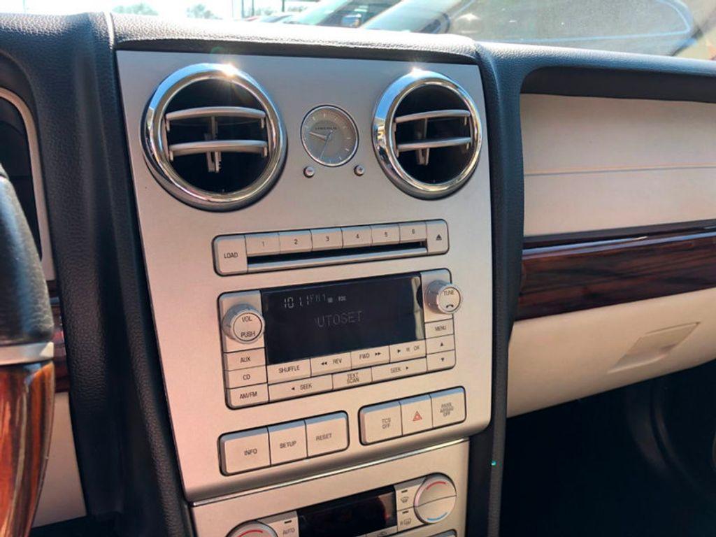 2008 Lincoln MKZ 2008 Lincoln MKZ Luxury Sedan - 18073895 - 10