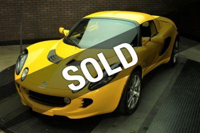 2008 Lotus Elise 2dr Convertible SC