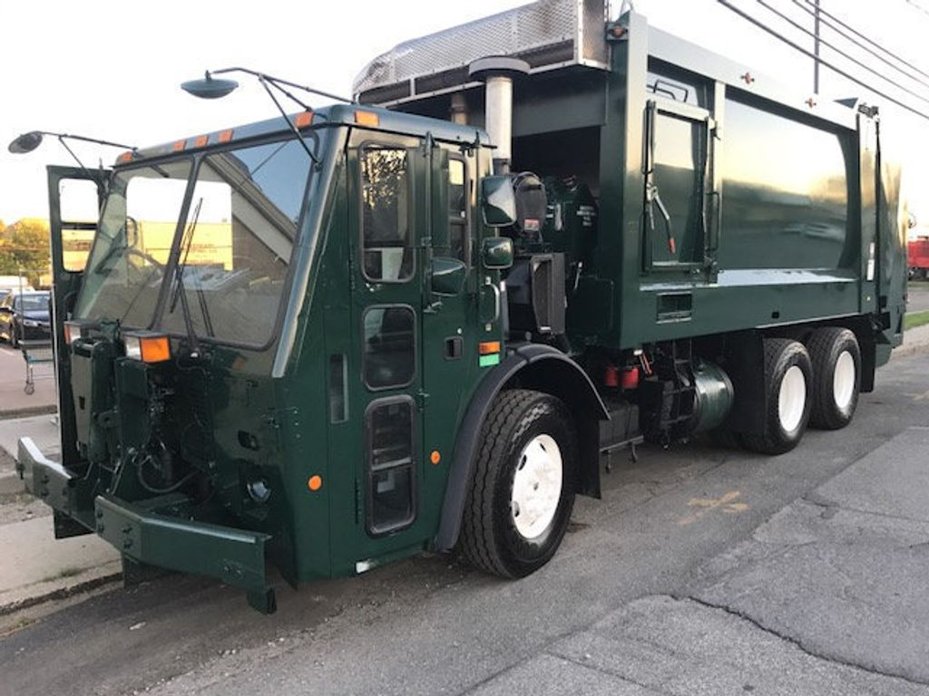 2008 Mack LE 613 REAR LOADER 25 YARD PACKER PRIVATE SANITATION  **  RECYCLE **  LETS SAVE THE WORLD - 16212874 - 1