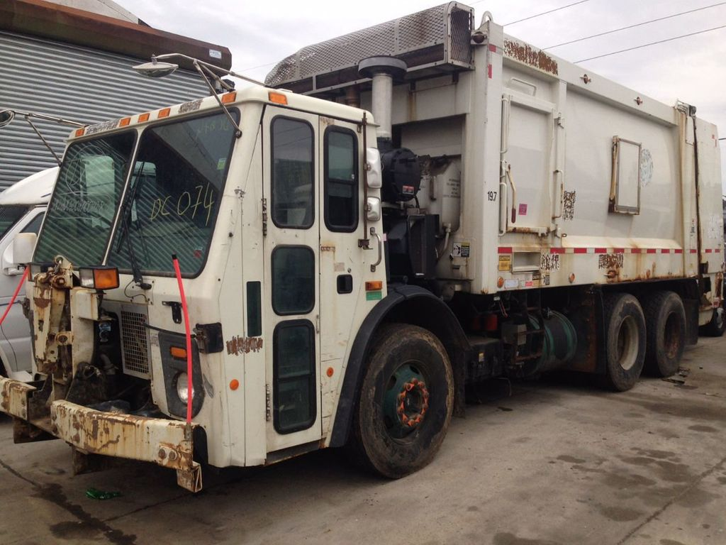 2008 Mack LE 613 REAR LOADER 25 YARD PACKER PRIVATE SANITATION  **  RECYCLE **  LETS SAVE THE WORLD - 16212874 - 19