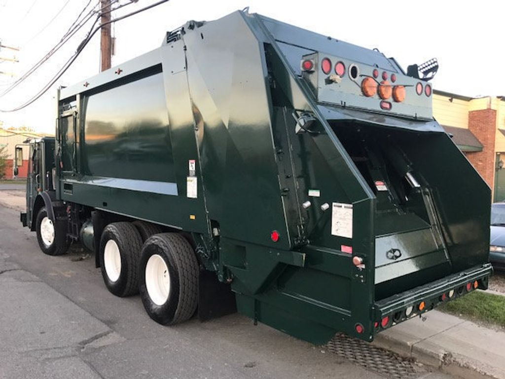 2008 Mack LE 613 REAR LOADER 25 YARD PACKER PRIVATE SANITATION  **  RECYCLE **  LETS SAVE THE WORLD - 16212874 - 3