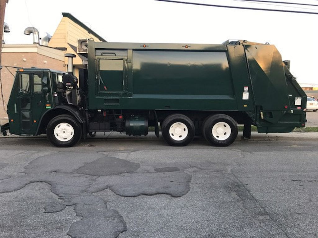 2008 Mack LE 613 REAR LOADER 25 YARD PACKER PRIVATE SANITATION  **  RECYCLE **  LETS SAVE THE WORLD - 16212874 - 4