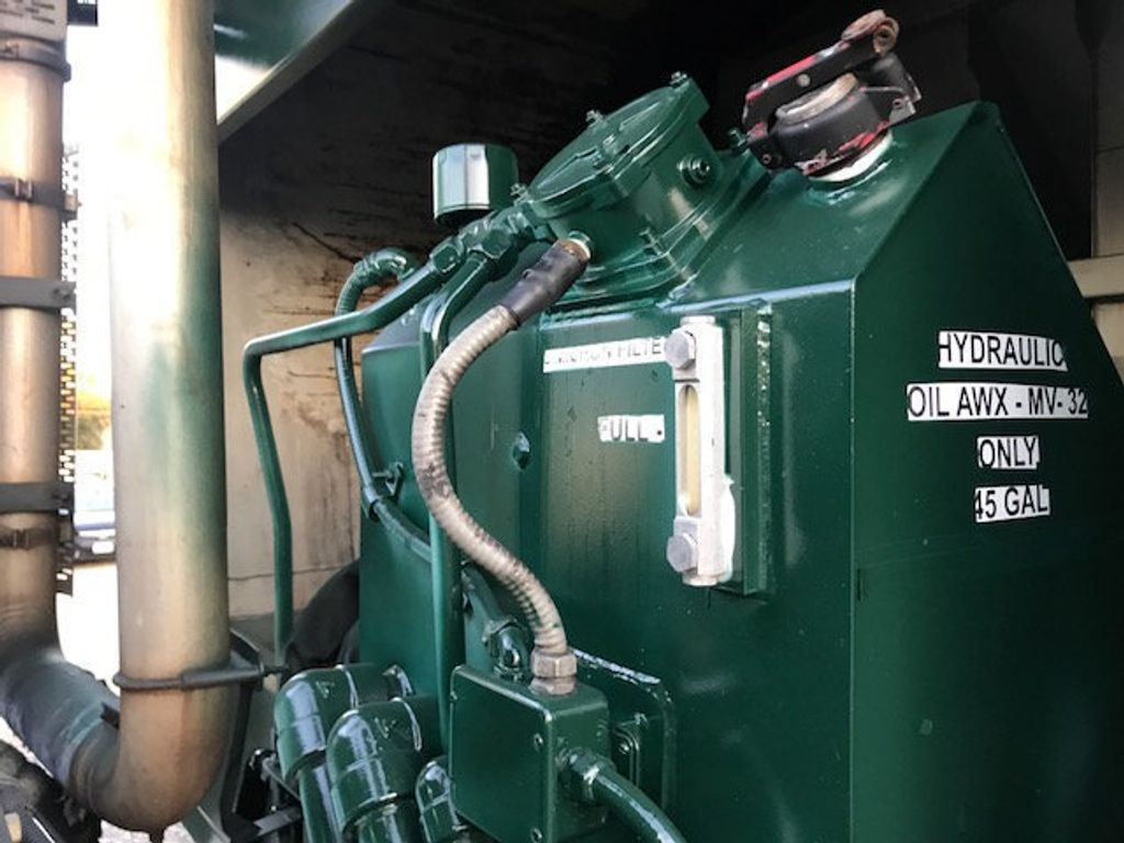 2008 Mack LE 613 REAR LOADER 25 YARD PACKER PRIVATE SANITATION  **  RECYCLE **  LETS SAVE THE WORLD - 16212874 - 8